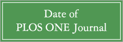 Date of PLOS ONE Journal